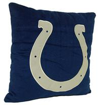 "NFL Indianapolis Colts Printed Pillow, 18"", Blue"
