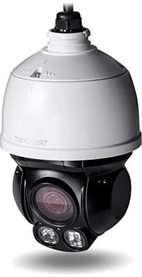 TRENDnet Indoor/Outdoor Speed Dome PoE IP Camera with 2