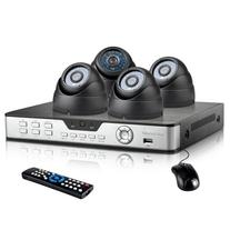 Zmodo Indoor Complete Security Camera System 4 CH H.264 D1