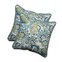 Pillow Perfect Outdoor/Indoor Zoe Mallard Throw Pillow , 18.