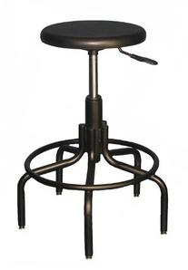 """6003M Industrial Urethane Stool/Chair Height 18 1/2""""- 23 1/2"""
