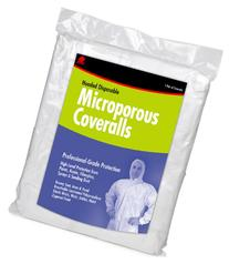 Buffalo Industries  Hooded Microporous Disposable Coverall