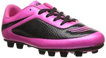 Vizari Infinity FG Soccer Cleat , Pink/Black, 1 M US Little