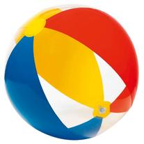 "INTEX 24"" Inflatable Paradise Panel Colorful Beach Ball"