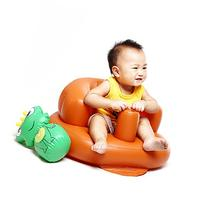 Inflatable Ventilated Empire Chair w/ Built-in Pump for Kids