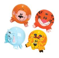 Fun Express Inflatable Jungle Animal Shaped Beach Balls ,