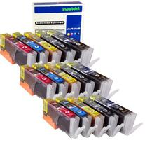 ink4work© Set of 15 Pack PGI-250XL & CLI-251XL Compatible