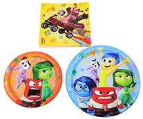 Disney Pixar Inside Out Holiday Birthday Party Pack - Plates