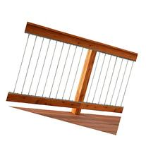 Dolle INSTA-Rail Vertical Cable Railing Inserts for deck
