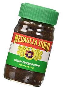 Medaglia D'Oro Instant Espresso Coffee, 2-Ounce Jars