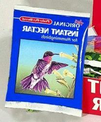 Instant Nectar For Hummingbirds - INSTANT NECTAR FOR