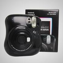 Fujifilm Instax MINI 25 Instant Film Camera, Black