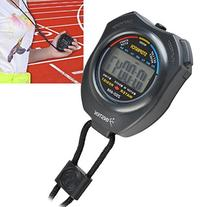 Insten LCD Digital Sports Stopwatch Chronograph Timer with