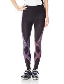 CW-X Women's Insulator Stabilyx Tights,X-Small,Black/Purple