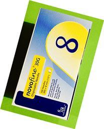 Novofine 30 Insulin Pen Needle Disposable 1/3 Inch - Box of