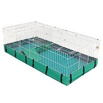 Guinea Habitat Plus Guinea Pig Cage by MidWest w/ Top Panel
