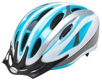 Schwinn Adult Intercept Helmet, Silver/Blue