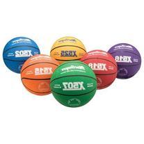MacGregor Intermediate Size Multicolor Basketball, Green