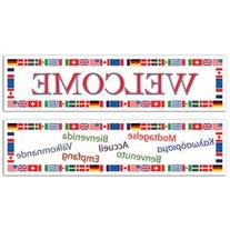 International Welcome Banners  Party Accessory