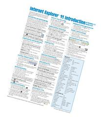 Internet Explorer 11 for Windows 8.1 Update Quick Reference