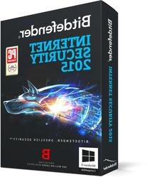 Bitdefender Internet Security 2015 - 1 PC, 1 year