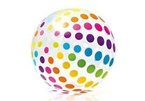 Intex Jumbo Inflatable Big Panel Colorful Giant Beach Ball