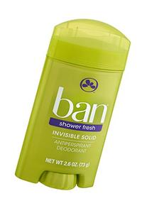 Ban Inv Sld Shower Frsh Size 2.6z Ban Shower Fresh Invisible