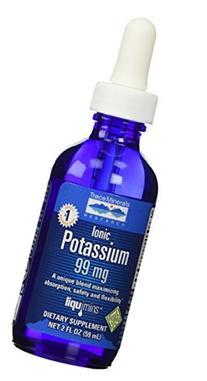 Trace Minerals Research Liquid Ionic Potassium Supplement, 2