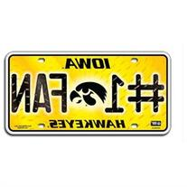 Iowa Hawkeyes Official NCAA License Plate by Rico Industries
