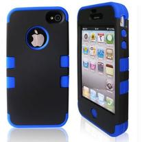 iPhone 4S Case, iPhone 4 Case, SQDeal 3-piece Hybrid High