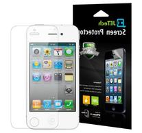 JETech 3-Pack iPhone 4 / 4s Screen Protector Film Retail