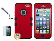 Apple Iphone 5 Dual Layer Hybrid heavy duty Phone Protector