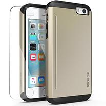 iPhone 5s Case, OBLIQ  w/ HD Screen Protector - with