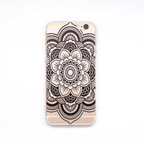 iPhone 6 Case,iPhone 6S Case LUOLNH Henna Full Mandala