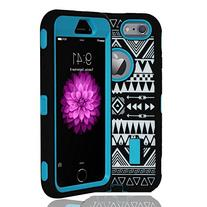 Kuteck® iPhone 6 Case - Tribal Hybrid Dual Layer Armor