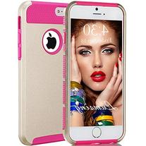 iPhone 6s Case, iPhone 6s Case, Lumsing Heavy Duty Hybrid