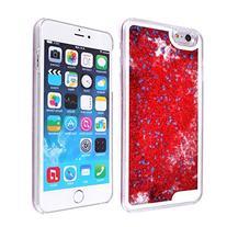 iPhone 6 6s Plus Case-Yoption Transparent Plastic 3D Glitter