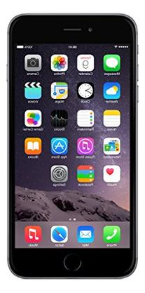 Apple iPhone 6 Plus 64 GB Unlocked, Space Gray