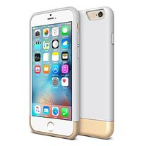 iPhone 6 slim case Vibrance - White / Gold
