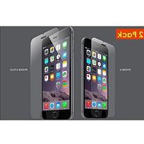 2 iPhone 6 Tempered Glass Screen Protector by Beam