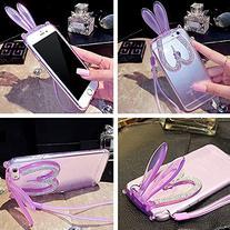iPhone 6 Plus Transparent Case, MobilePick® Super Cute 3D