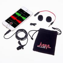 Microphones & More iPro-Max pro Lavalier Lapel Microphone