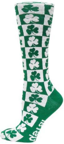 Ireland Checkerboard Dress Socks