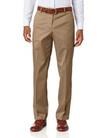 Dockers Men's New Iron Free Khaki D2 Straight Fit Flat Front