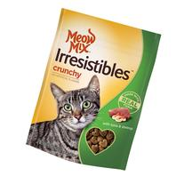 Meow Mix Irresistibles Tuna & Shrimp Crunchy Cat Treats, 2.5