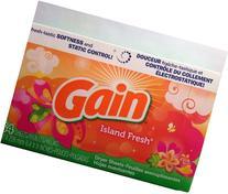 Gain Island Fresh Dryer Sheets 2 Pack