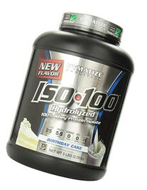 Dymatize ISO 100 Whey Protein Powder Isolate, Birthday Cake