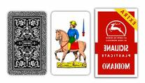 Italian Sicilian Scopa Playing Cards by Modiano
