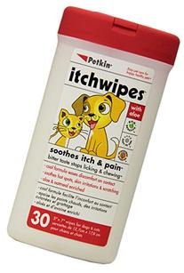 Petkin Itch Stop Wipes, 30-Count Pack