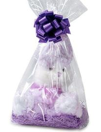 Item#42330 - 10pack Clear Cello/cellophane Bags Gift Basket